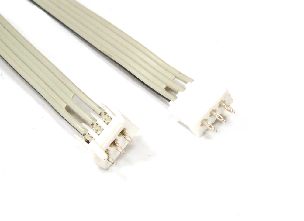 3-Wire Flat Cable 3-Pin Male Connector / Flachband-Kabel mit Stecker 420mm 4060787099037