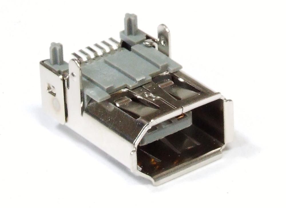 6-Pin Pol Fire-Wire Jack IEEE 1394 Port Connector SMD Solder Plug Einbau-Buchse 4060787103468