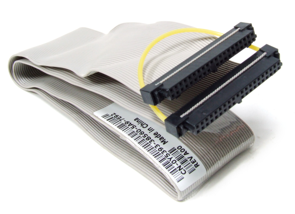 40-Pin MB to USB-2.0 I/O Front Panel Ribbon Cable / Flach-Band-Kabel 0JD739 68cm 4060787132123