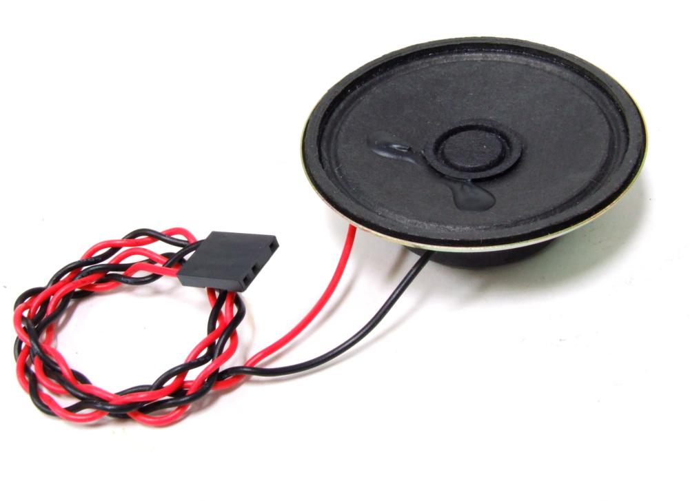 8 Ω Ohm 0.5W Internal PC Speaker 2-Wire to 4-Pin Connector / Lautsprecher Ø57mm 4060787109972