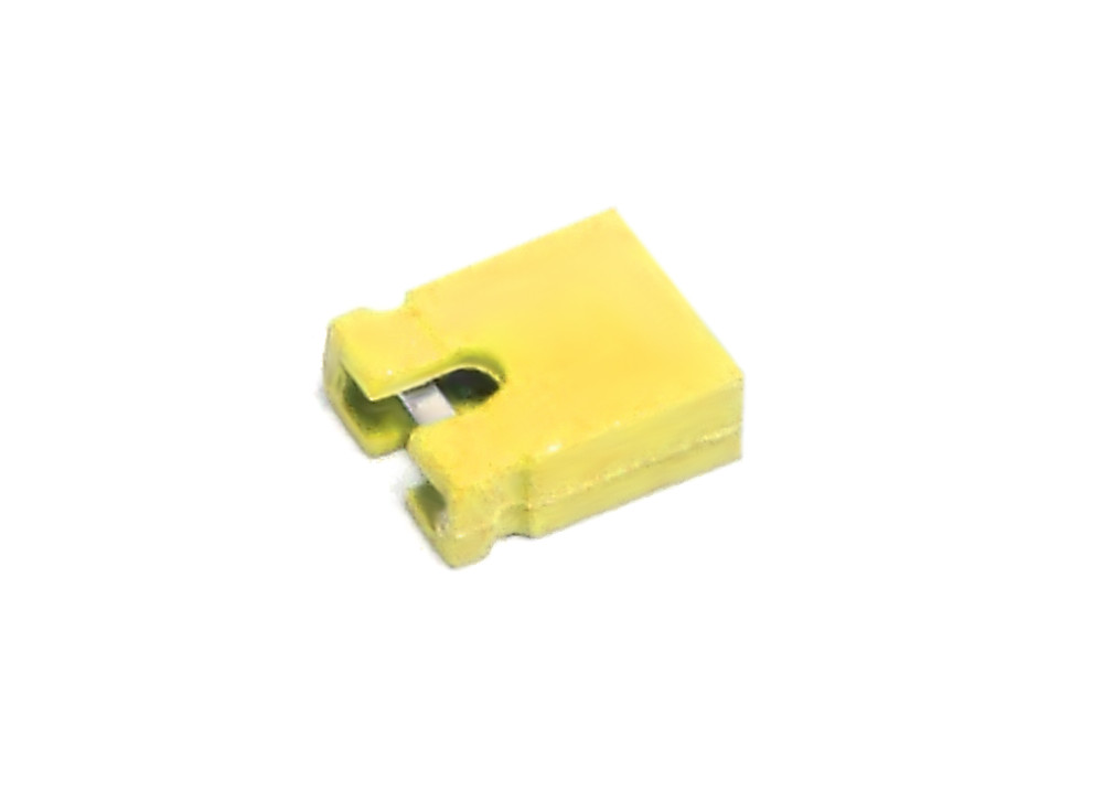 10x PC Jumper Shunts Bridge 2-Pin Mainboard Connector Yellow Stecker Brücke Gelb 4060787110541