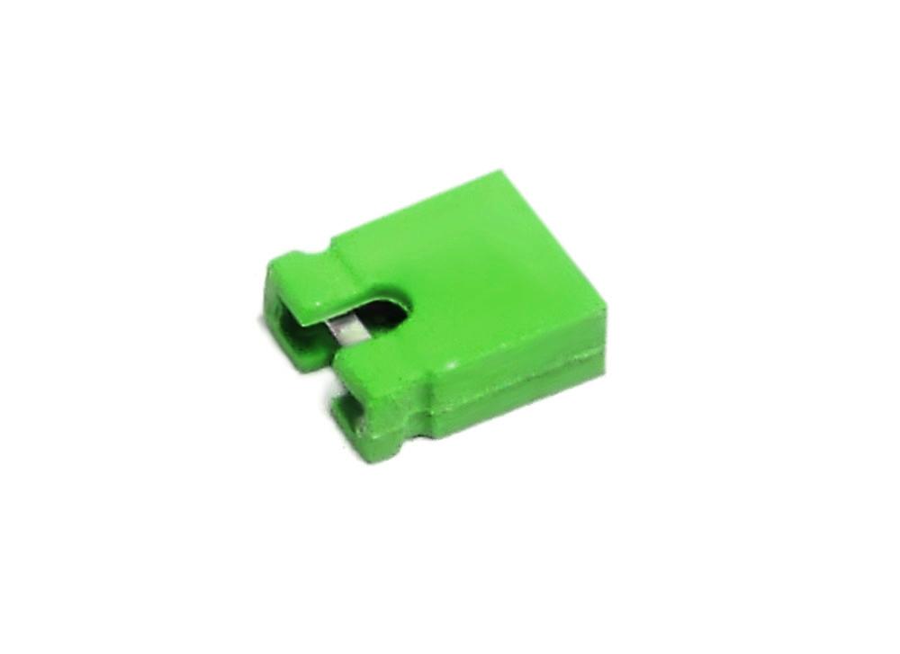 10x PC Hard Drive HDD 2-Pin Jumper Green / Kurzschluss-Brücke Steckbrücke Grün 4060787110558