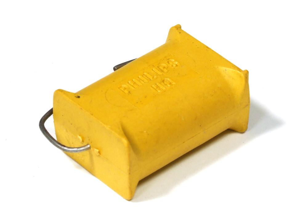 Capacitor 6x Folien-Kondensator von Philips MKT 341 HQ Chicklet 250 V 1 µF