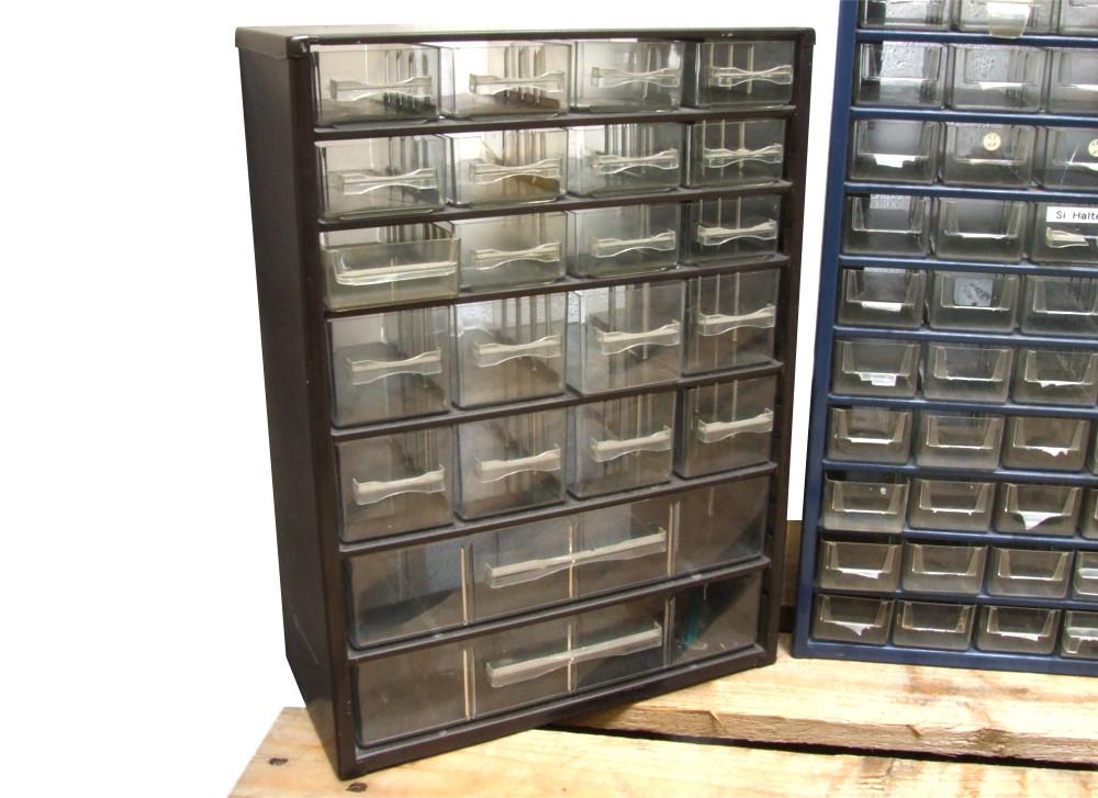 5x Sortiment Kasten Sortierkasten Kleinteilemagazin