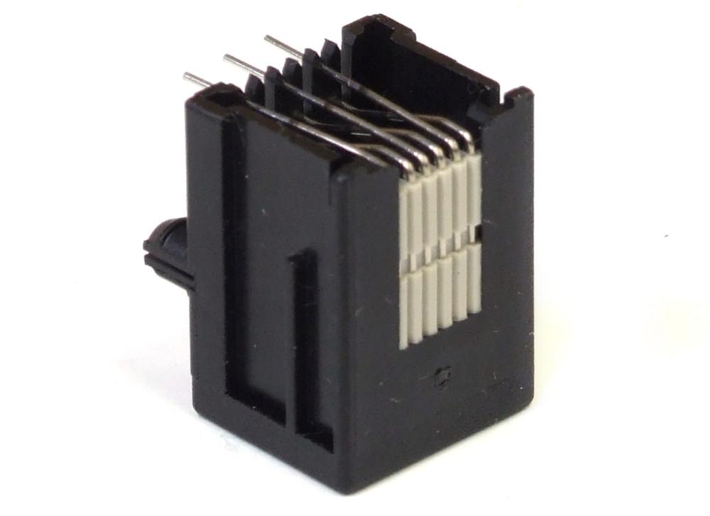 2x 215876 1 Pcb 6p6c Rj 12 Rj 25 Ethernet Modular Jack