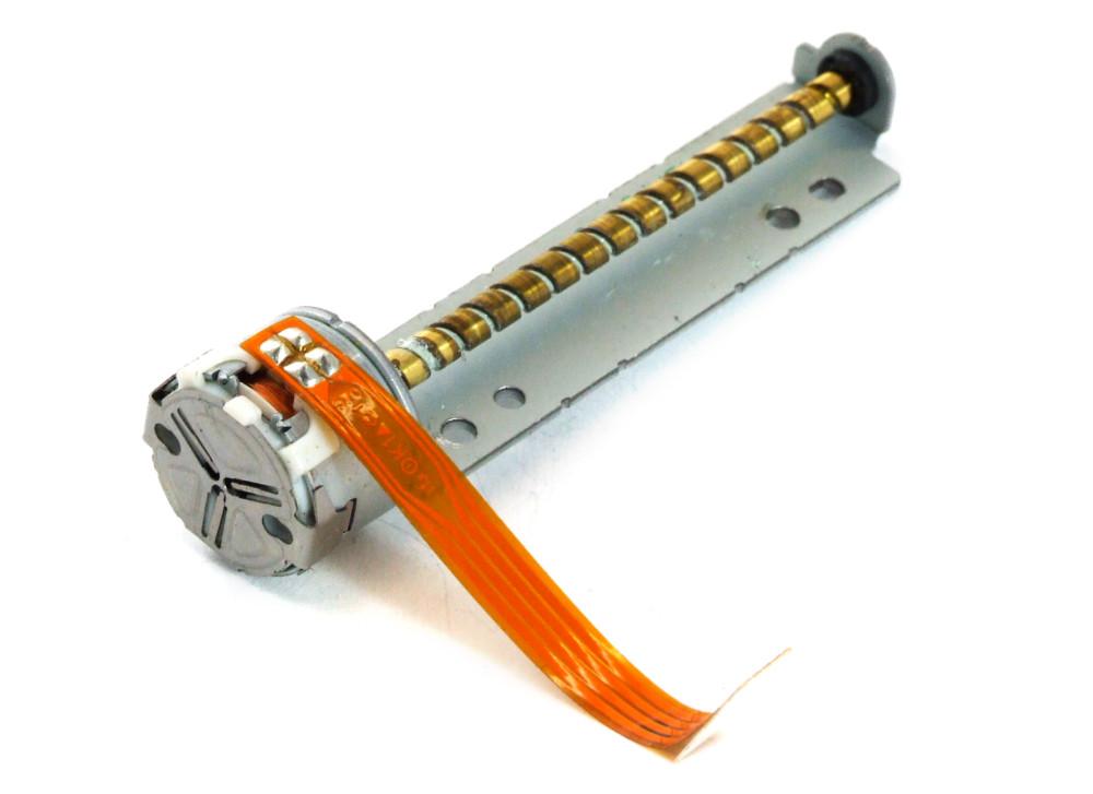 MSAP020Q31 Mini Stepper Stepping Laser Drive Motor / Linearmotor Wurmmotor 66mm 4060787249562