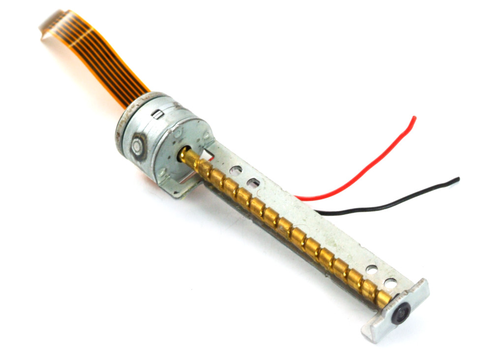 Minebea-Matsushita Linear Drive Stepper Worm Motor / Linearmotor Schrittmotor 4060787253309