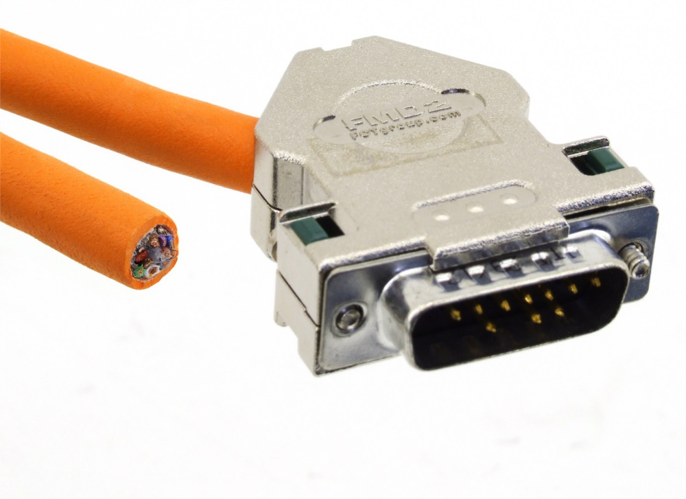 Rexroth RKG4200 Geberleitung Steuerleitung Servo Motor Kabel Encoder Cable 4.5m 4060787283146