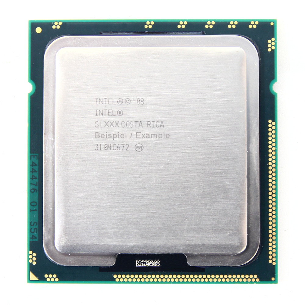 Intel Xeon E5645 SLBWZ 2.40GHz/12MB/5.86GT/s Sockel/Socket LGA1366 Six-Core CPU 4060787296313