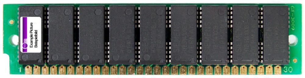 1MB Siemens 30pin SIMM Fast Page Mode FPM RAM Parity 9 Chips 80ns HYB511000AJ-80 4060787157812