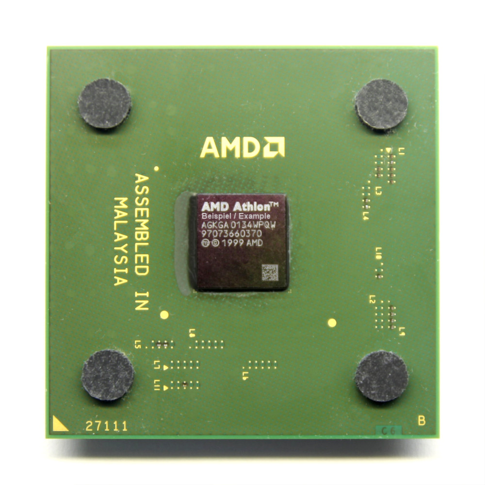 AMD Athlon XP 2000+ 1.67GHz/256KB/266MHz AX2000DMT3C Sockel 462/ Socket A PC-CPU 4060787030498