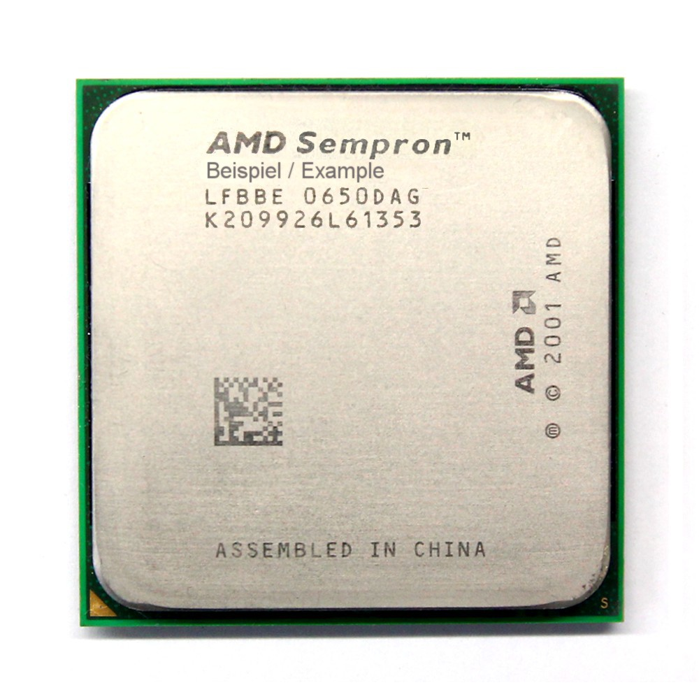 AMD Sempron 64 3100+ 1.80GHz/256KB Sockel/Socket 754 SDA3100AIO3BA CPU Processor 4060787025265