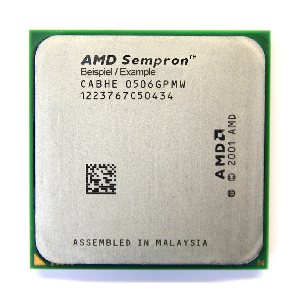 AMD Sempron 64 3000+ 1.8GHz/128KB Sockel/Socket 939 SDA3000DIO2BW Processor CPU 4060787008763
