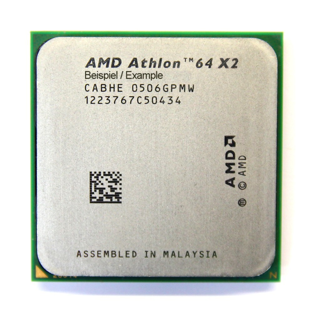 AMD Athlon 64 X2 4200+ 2.2GHz/1MB Dual Core CPU Sockel/Socket 939 ADA4200DAA5CD 4060787008619
