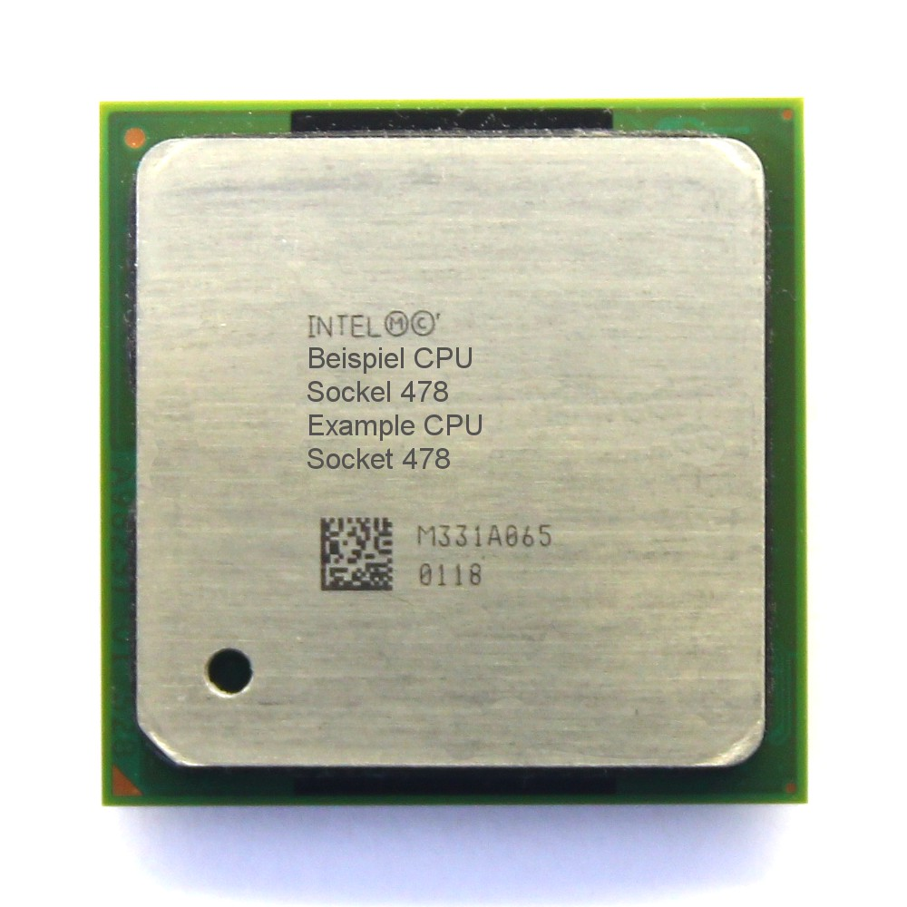 Intel Pentium 4 SL6GQ 2GHz/512KB/400MHz Socket/Sockel PPGA478 Northwood PC-CPU 4060787034953