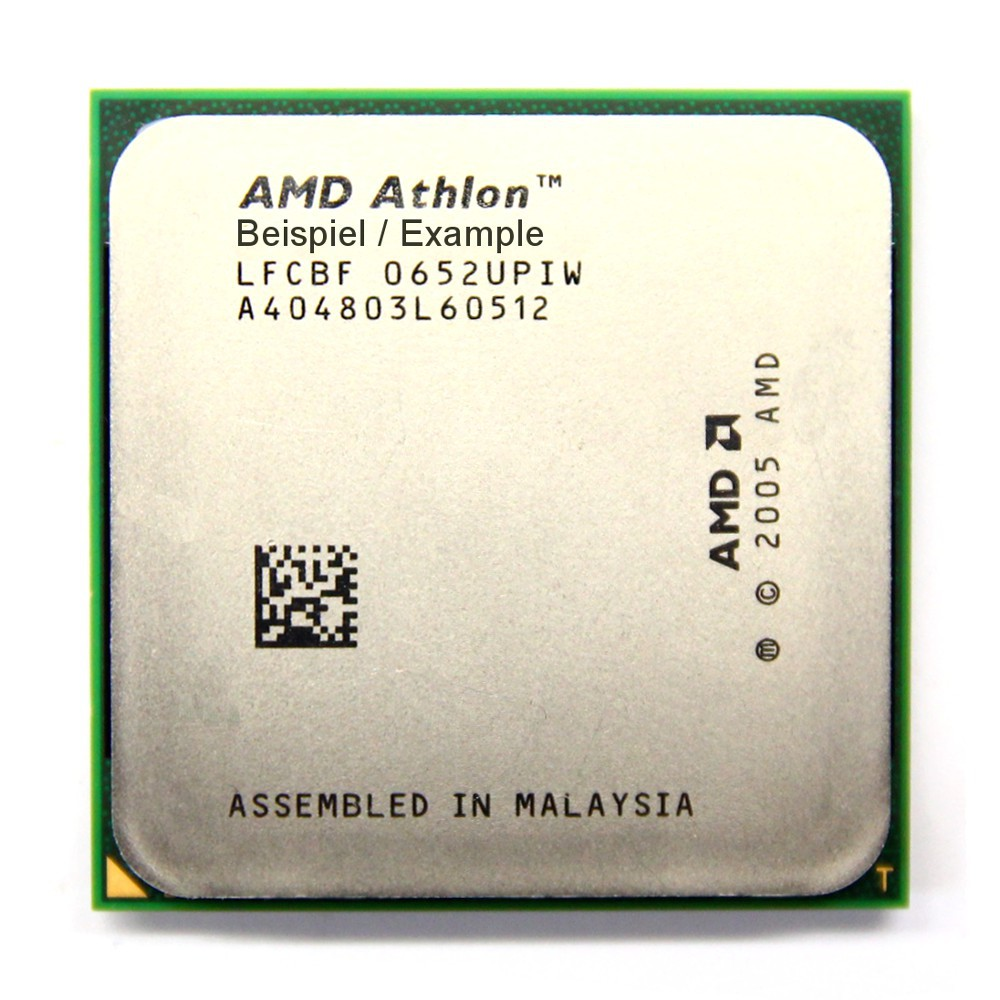 AMD Athlon 64 LE-1600 2.2GHz/1MB Sockel/Socket AM2 ADH1600IAA5DH Orleans CPU PC 4060787014351