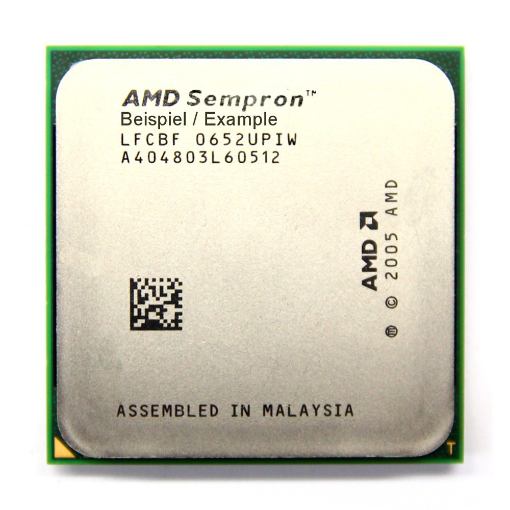 AMD Sempron 64 3200+ 1.8GHz/128KB Sockel/Socket AM2 SDA3200IAA2CN Processor CPU 4060787021892
