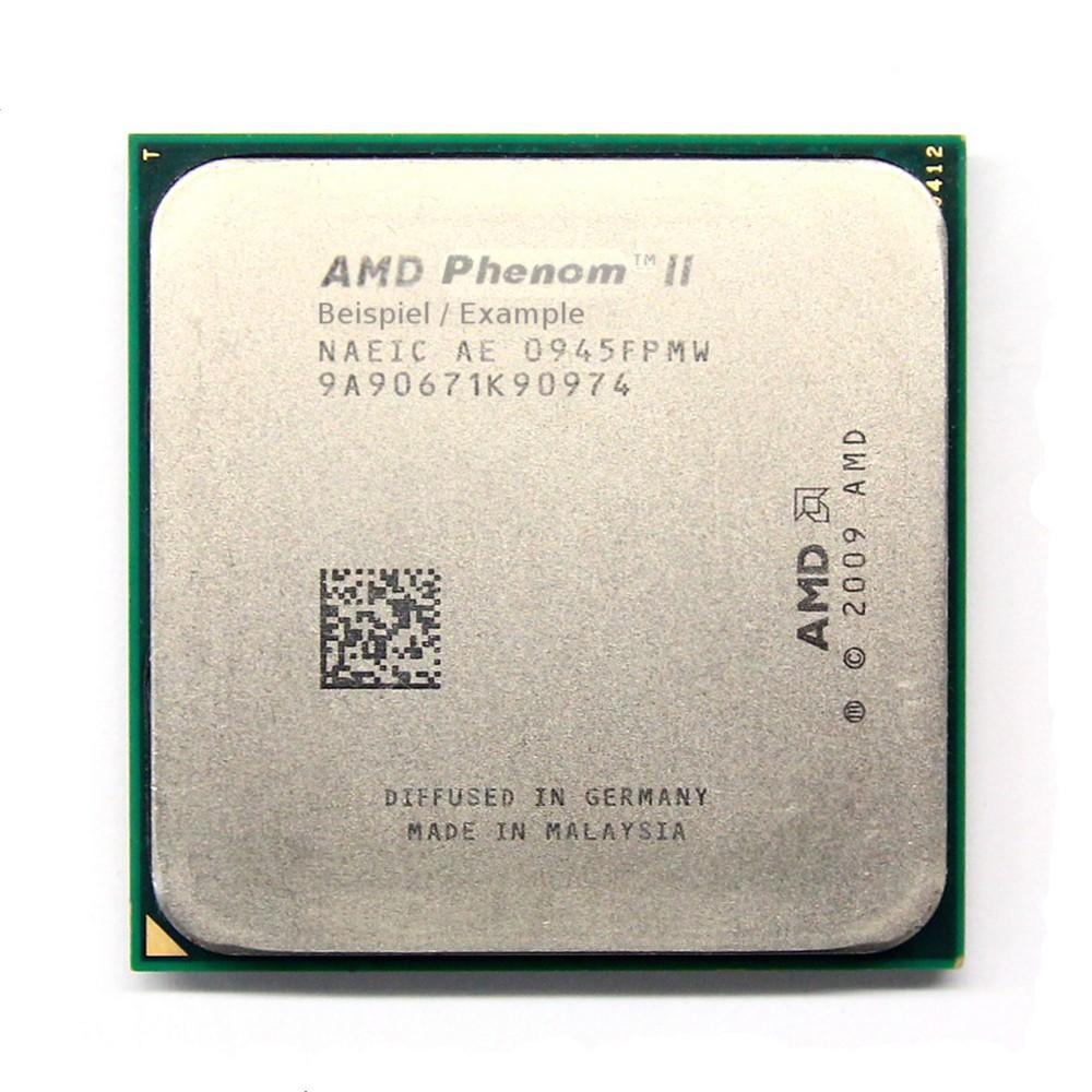 AMD Phenom II X4 610e 2.40GHz Socket Sockel AM3 AD610EHDK42GM Quad Core CPU 45W 4060787313683