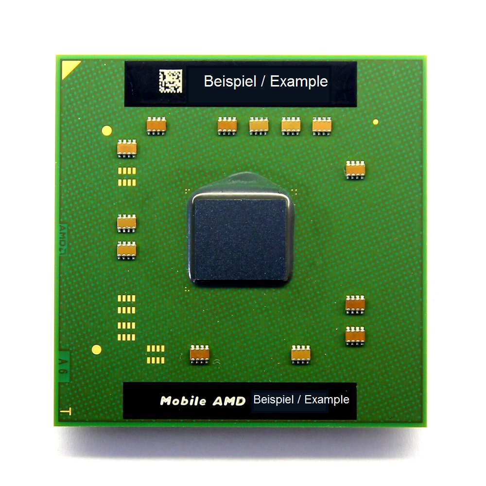 AMD Mobile Sempron Laptop CPU 2800+ 1.6GHz/256KB SMS2800BOX3LB Socket/Sockel 754 4060787242440