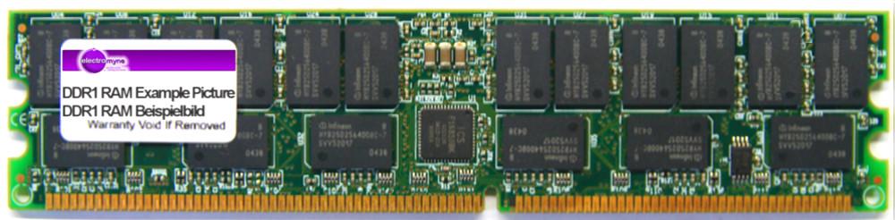1GB Princeton DDR1 PC2100R 266MHz CL2.5 ECC Reg Server-RAM GPM266X72RC25/1G/I 4060787023780