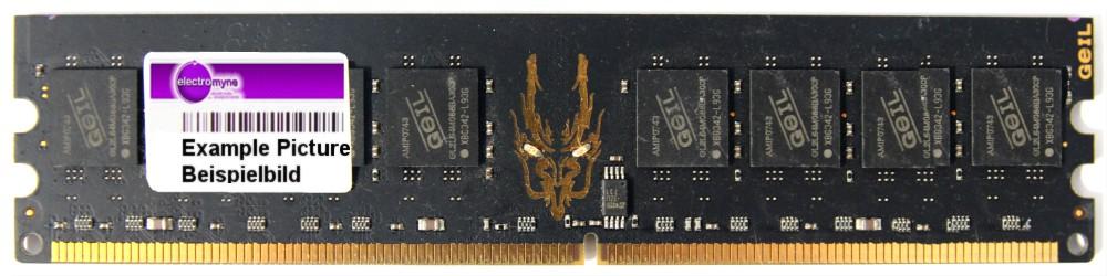 1GB GeIL Black Dragon DDR2-800MHz PC2-6400U GB24GB6400C5QC RAM Desktop CL5 1.8V 4060787304520