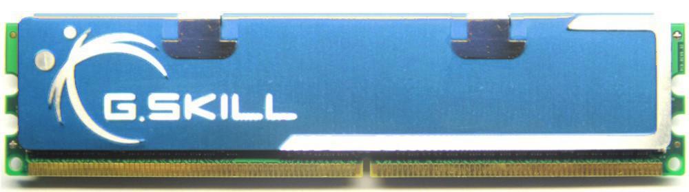 2GB Kit (2x1GB) G.Skill DDR2-800 RAM PC2-6400 CL4 F2-6400CL4D-2GBPK DIMM Memory 4060787273505