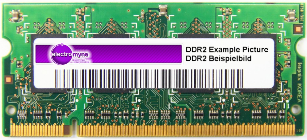 1GB 667MHz DDR2 RAM PC2-5300S 200-Pin Pol SO-DIMM Laptop Memory Notebook 1024MB 4060787119131