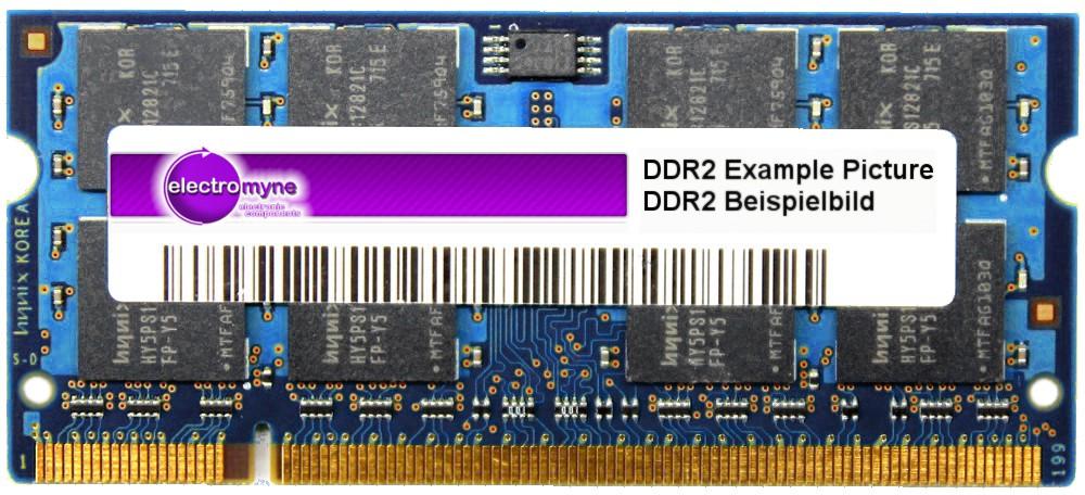 1GB DDR2-667 PC2-5300S SO-DIMM NT1GT64U8HB0BN-3C 40Y8403 395318-732 446429-001 4060787024558