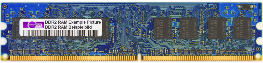 256MB Nanya DDR2-533 RAM PC2-4200U CL4 1Rx16 NT256T64UH4A0FY-37B / HP 355949-888 4060787029775