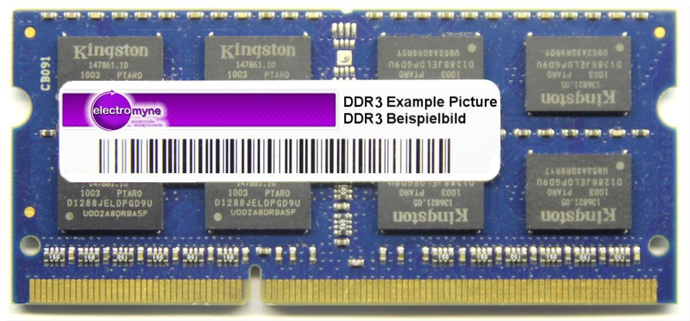 2GB Hynix DDR3-1333 Notebook RAM PC3-10600S CL9 2Rx8 SO-DIMM HMT125S6TFR8C-H9 N0 4060787261793