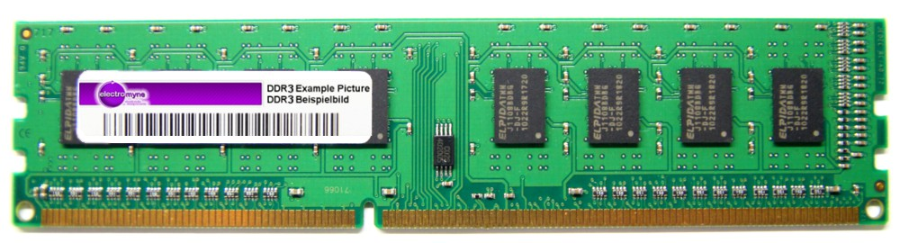 1GB Micron DDR3-1066 RAM PC3-8500U-7-10 CL7 MT8JTF12864AZ-1G1F1 Desktop Memory 4060787261755