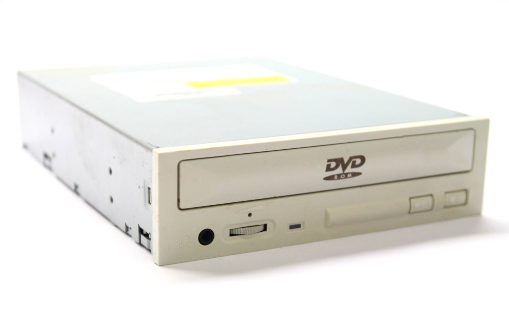 Lite-On DVD-ROM Drive LTD-122 CD+DVD/R IDE Desktop PC 40x Laufwerk weiß / white 4060787024251