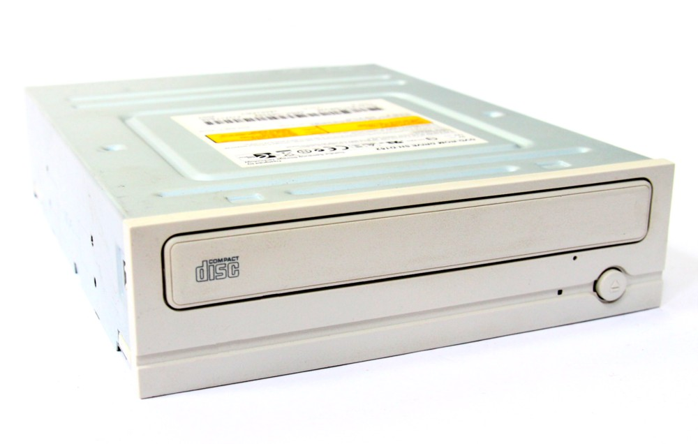 LG CD-ROM GCR-8522B IDE Desktop internal Drive / PC 52x Laufwerk weiß / white 4060787032522