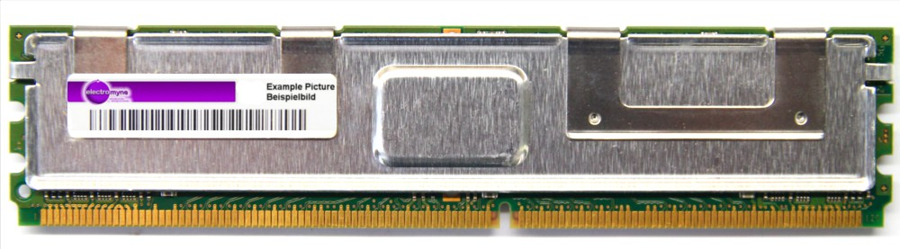 4GB Micron DDR2 PC2-5300F 667MHz ECC FB-DIMM MT36HTF51272FY-667G1N8 398708-061 4060787297488