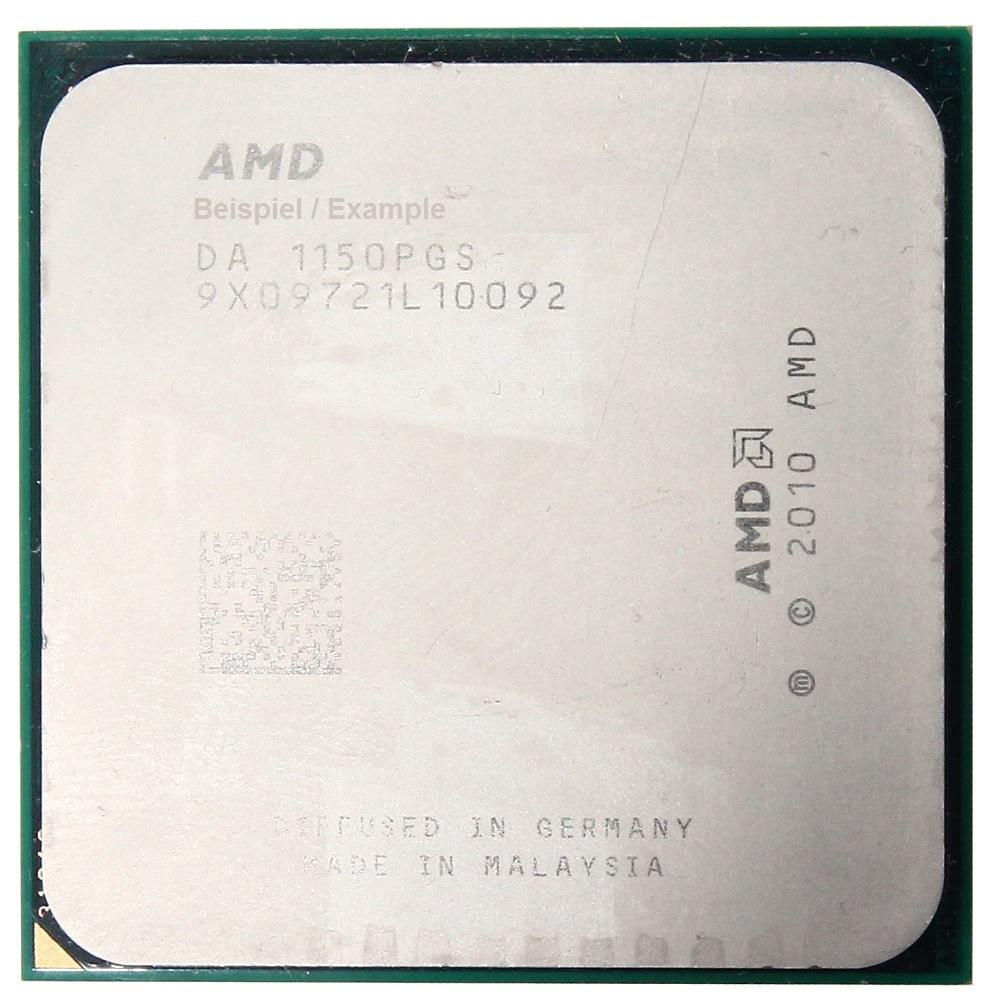 AMD A4-Series A4-3400 2.70GHz AD3400OJZ22HX Sockel/Socket FM1 Dual Core PC-CPU 4060787297822
