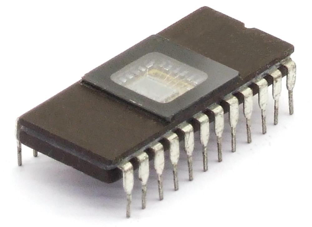 Intel B2708 1KByte x 8Bit 8Kbit UV-Erasable PROM EPROM IC DIP-24 Vintage Memory 4060787272157