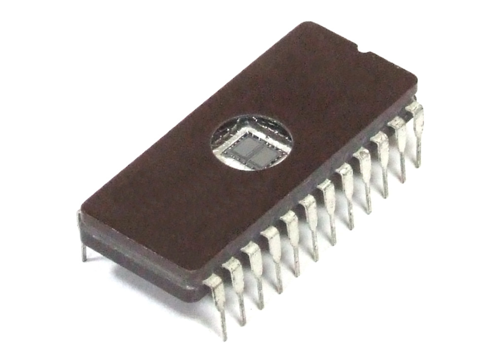 2KB Fairchild NMC27C16BQ-150 2Kx8-Bit 16Kbit 12.75V UV-Eprom Ceramic IC DIP-24 4060787267269