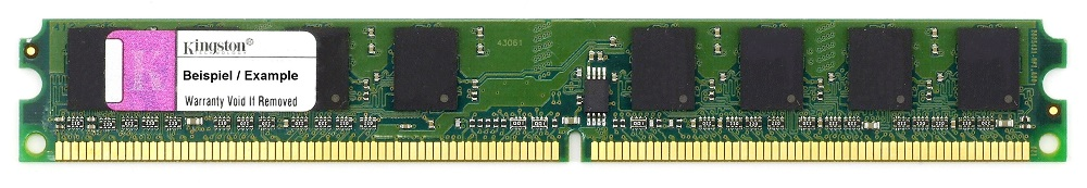 1GB Kingston DDR2 800MHz RAM PC2-6400 CL6 VLP Very Low Profile DIMM RMD2-800/1G 4060787273628