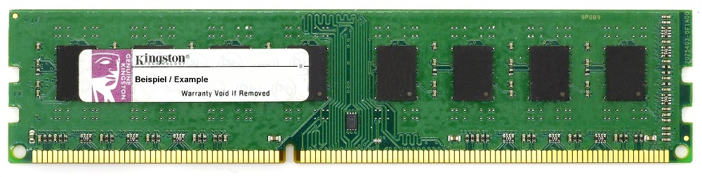 1GB Kingston DDR3-1333 RAM PC3-10600U CL9 KTH9600B/1G Speicher Memory Desktop 4060787259486