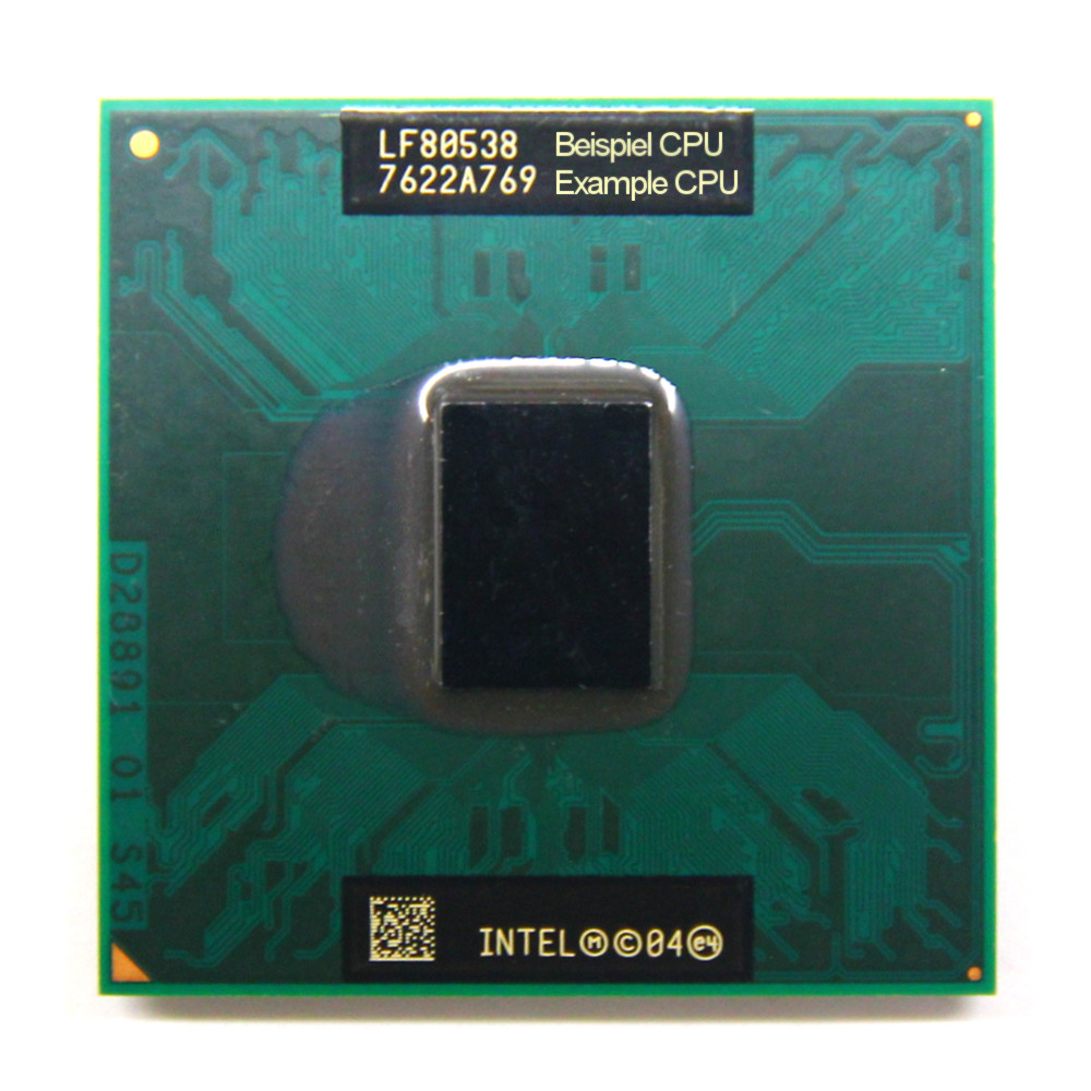 Intel Core Solo Mobile Processor T1200 SL92C 1.5GHz/2MB/667MHz Socket/Sockel M 4060787250063