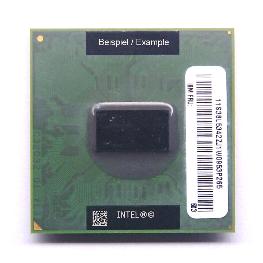 NEW Intel Pentium M 1,5GHz SL6F9/1MB/400MHz CPU Sockel/Socket M / PPGA478 Laptop 4060787002730