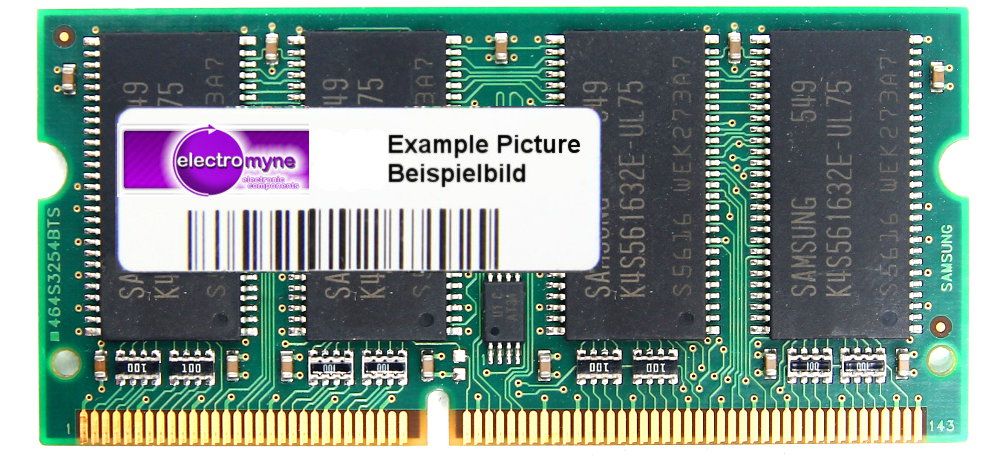 128MB PC100 100MHz SD-RAM 144-Pin Pol SO-DIMM Laptop memory Notebook Speicher 4060787117229