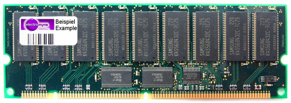 128MB Compaq 306431-001 PC100R Reg ECC SD-RAM 100MHz sever memory 168-pin 4060787276018