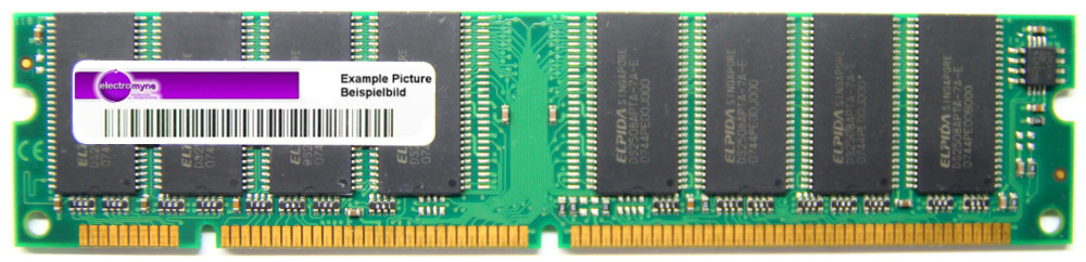 256MB Siemens PC133-333 SDRAM 133MHz CL3 168-pin DIMM SIE3264133G07IN-GE-C3B16D 4060787135315