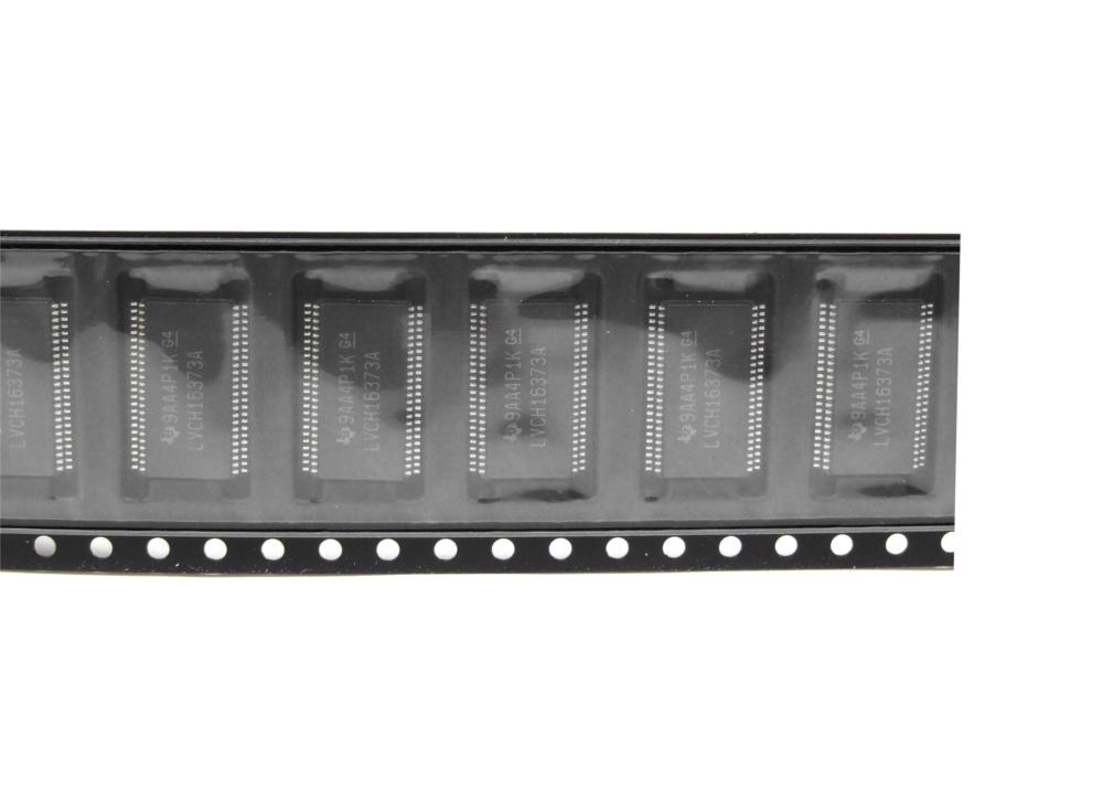 Texas Instruments SN74LVCH16373 SMD 16-Bit Transparent D-Type Latch TSSOP-48-05 4060787089564