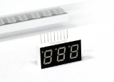 Triple Digits 7-Segment LED Display Green / Anzeige Grün 9 Pin LiteOn LTC-4622G